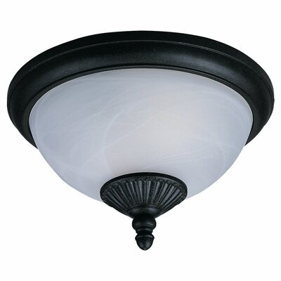 Nicollet 2-Light Flush Mount Bulb Type: 60W Medium