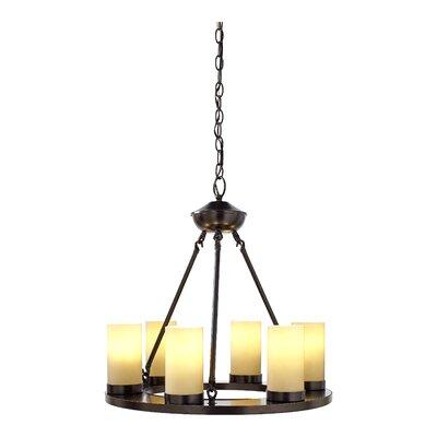 Ellington 6 Light Chandelier Bulb Type: Incandescent A19 60W