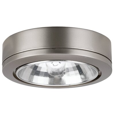 Ambiance Fluorescent Under Cabinet Puck Light Finish: Brushed Nickel