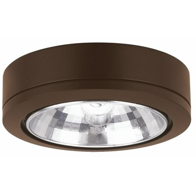 Ambiance Fluorescent Under Cabinet Puck Light Finish: Antique Bronze