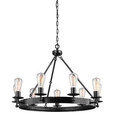 Hines 9-Light Candle-Style Chandelier