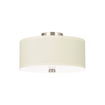 Dayna 2-Light Flush Mount Finish: Brushed Nickel