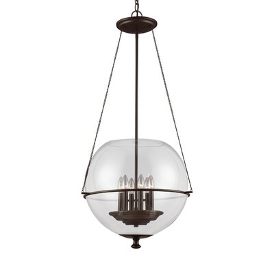 Nunda 6-Light Globe Pendant Finish: Autumn Bronze