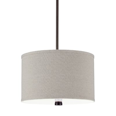 Palomar 2-Light Drum Pendant Finish: Burnt Sienna
