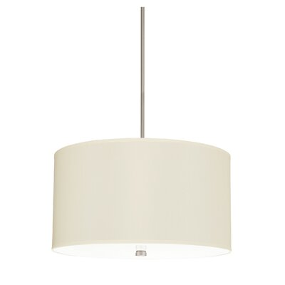 Palomar 4-Light Drum Pendant Finish: Brushed Nickel