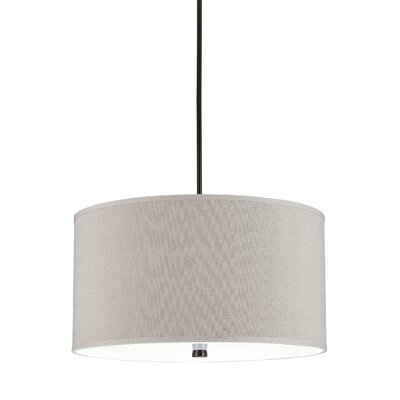 Palomar 4-Light Drum Pendant Finish: Burnt Sienna