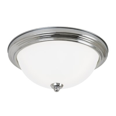 Jemuel 2-Light Flush Mount Finish: Chrome