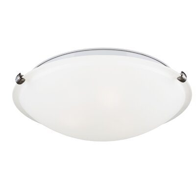 Kourtnee 3-Light Flush Mount