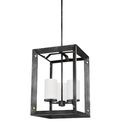 Galindo 3-Light Metal Foyer Pendant Finish: Stardust