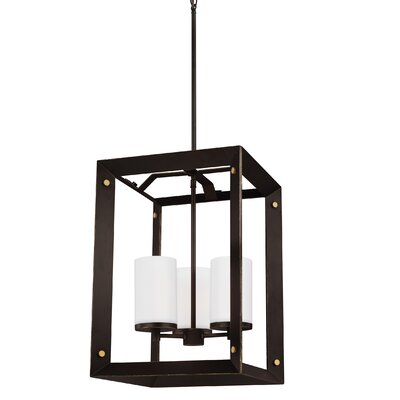 Galindo 3-Light Foyer Pendant Finish: Antique Bronze