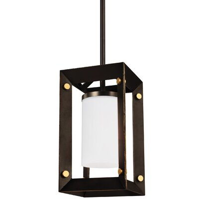 Galindo 1-Light Mini Pendant Finish: Stardust