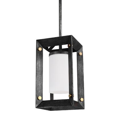 Chatauqua 1-Light Mini Pendant Finish: Stardust