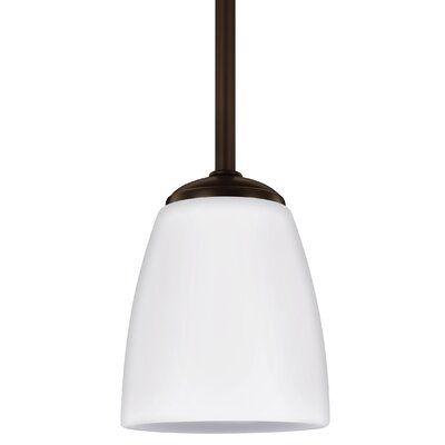 Zolt�n 1-Light Mini Pendant Finish: Heirloom Bronze