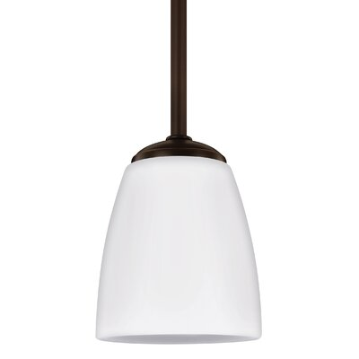Zolt�n Modern 1-Light Mini Pendant Finish: Heirloom Bronze