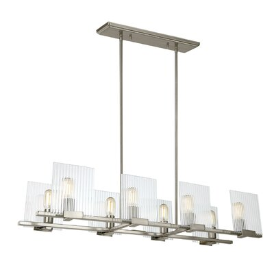 Sager 8-Light Kitchen Island Pendant