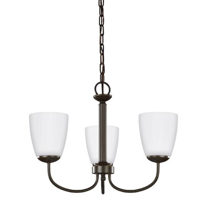 Bannock 3-Light Mini Chandelier Finish: Heirloom Bronze