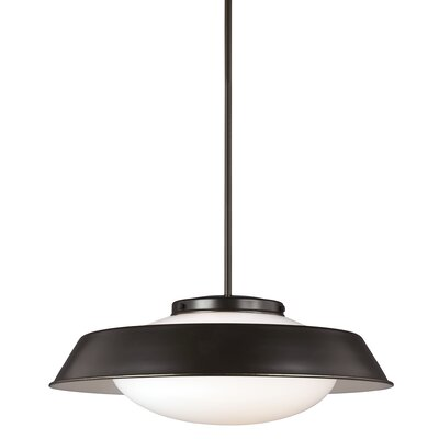 Sain Modern 2-Light Inverted Pendant Finish: Heirloom Bronze