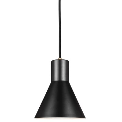 Alton 1-Light Modern Mini Pendant Finish: Satin Bronze