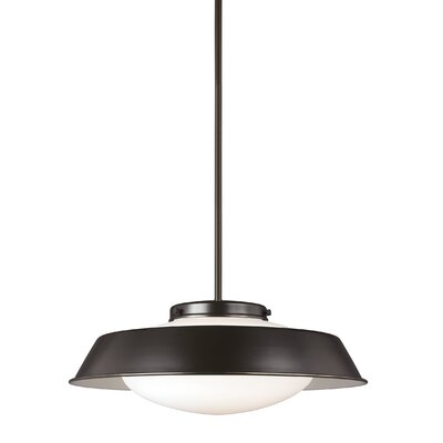 Sain 1-Light Inverted Pendant Finish: Heirloom Bronze