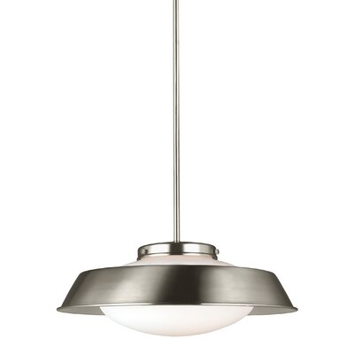 Gooding 1-Light Inverted Pendant Finish: Brushed Nickel