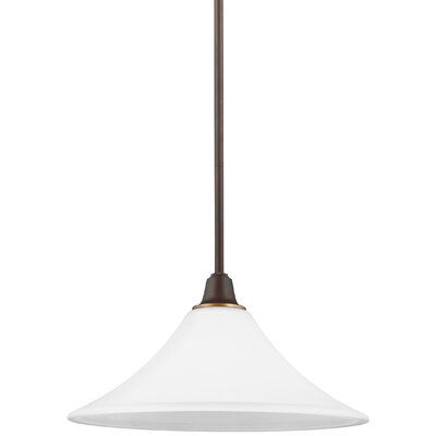 Irvona 1-Light Inverted Pendant Base Finish: Autumn Bronze