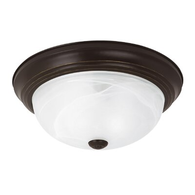 Windgate 1-Light Flush Mount Finish: Heirloom Bronze
