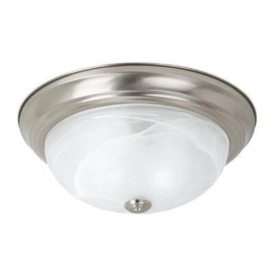 Windgate 3-Light Flush Mount Finish: Brushed Nickel