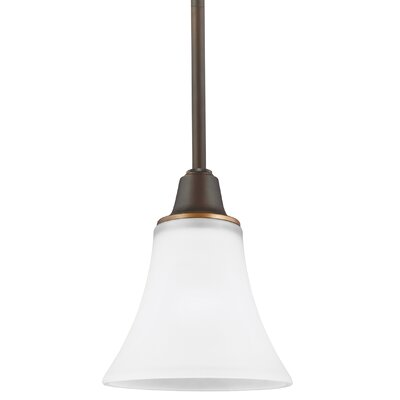 Irvona 1-Light Mini Pendant Base Finish: Autumn Bronze