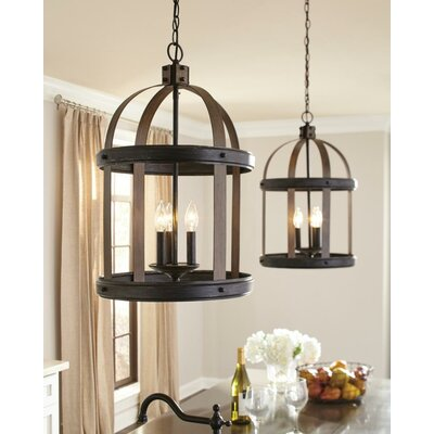Pawling 3-Light Hall / Foyer Size: 23.75 H x 14.75 W x 14.75 D