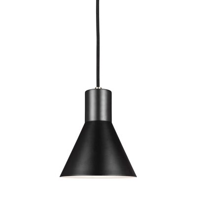 Alton 1-Light Modern Mini Pendant Finish: Brushed Nickel
