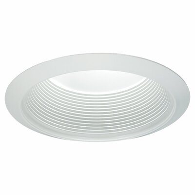 Baffle Trim Finish: White