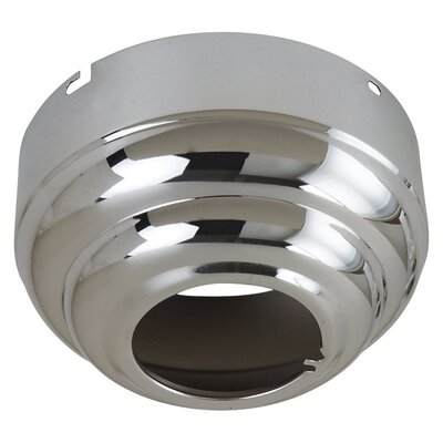 Slope Ceiling Fan Adapter Finish: Chrome