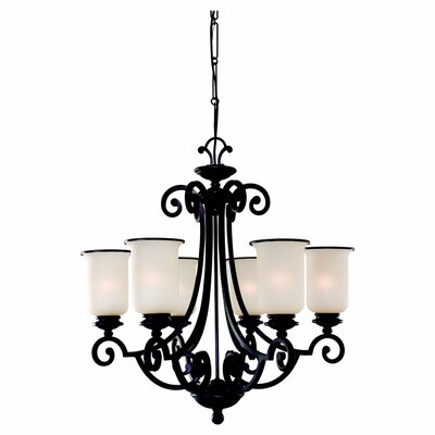 Acadia 6-Light Candle-Style Chandelier