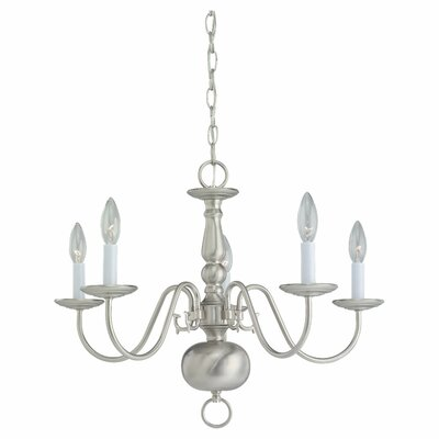Warrenton 5-Light Candle-Style Chandelier