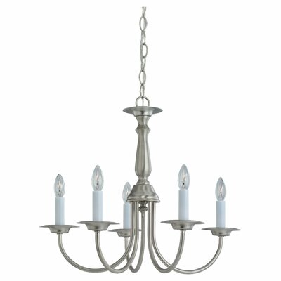 Steubenville 5-Light Candle-Style Chandelier