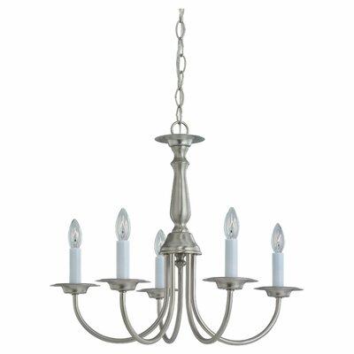 Steubenville 5-Light Candle-Style Chandelier