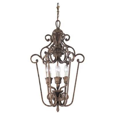 Beauford Foyer Pendant Finish: Regal Bronze