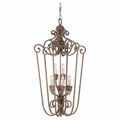 Beauford 9-Light Foyer Pendant Finish: Regal Bronze