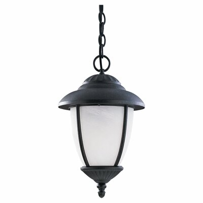 Yorktowne 1-Light Outdoor Hanging Lantern Bulb Type: 26W GU24 w/ Photocell