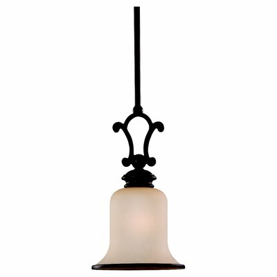 Acadia 1-Light Mini Pendant Finish: Misted Bronze - Energy Star