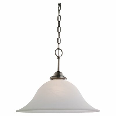 Hornellsville 1-Light Pendant Finish: Antique Brushed Nickel