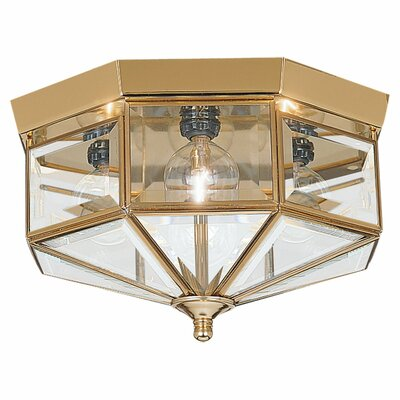 Hessie 6.5 4-Light Flush Mount