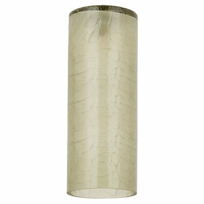 2.75 Glass Drum Pendant Shade Finish: Bamboo Green