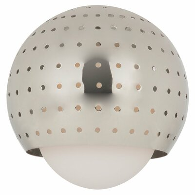 5.88 Glass Sphere Pendant Shade Finish: Polished Nickel