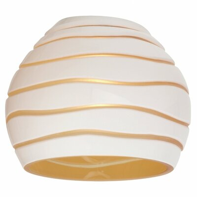 Ambiance Transitions 3.63 Glass Sphere Pendant Shade