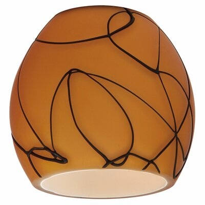 Ambiance Transitions 3.63 Glass Oval Pendant Shade