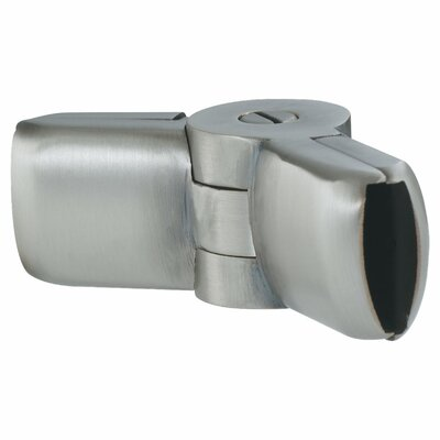 Ambiance Rail Angle Connector in Antique Brushed Nickel Finish: Antique Brushed Nickel