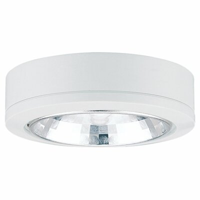 Ambiance Fluroescent Under Cabinet Puck Light Finish: White