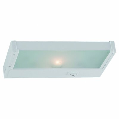 8.13 Halogen Under Cabinet Bar Light Finish: White