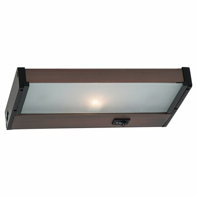 8.13 Halogen Under Cabinet Bar Light Finish: Plated Bronze